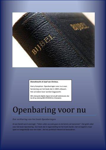 Openbaring Magazines