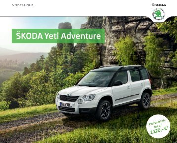 yeti zubeh r katalog pdf skoda. Black Bedroom Furniture Sets. Home Design Ideas