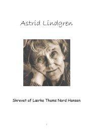 Astrid Lindgren blev født den 14