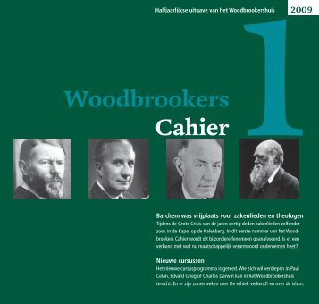 Download WoodbrookersCahier nummer 1 - Vereniging ...