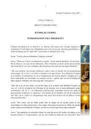 Introduktion till projektet - Wingmakers.se