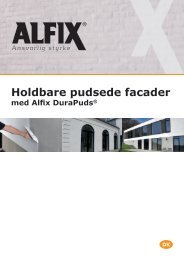 Holdbare pudsede facader med DuraPuds - Alfix A/S