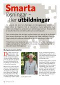 För att tillgodose branschens behov av utbildad ... - Järnvägsskolan - Page 4