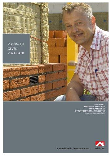 VloeR- en geVel- VeNTilATie - Ubbink