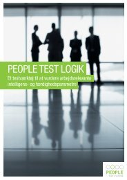 PeoPle TesT logik - People Test Systems