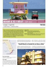 miami & key west - kør seLv - Orkiderejser