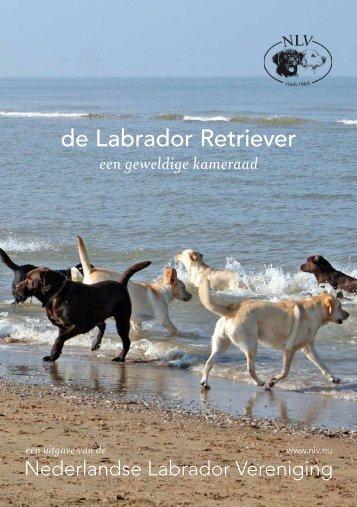 Brochure - Nederlandse Labrador Vereniging