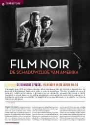 [PDF] Film noir. De schaduwzijde van Amerika - Filmmagie