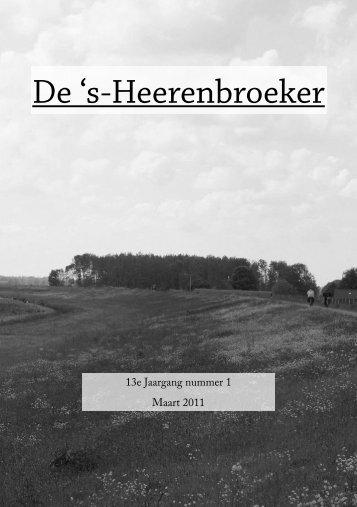 editie 1 - s-Heerenbroek