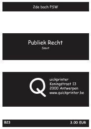 B23 Publiek Recht - Quickprinter