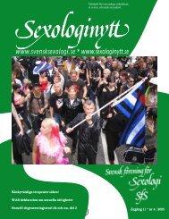 Sexologinytt nr3 2005