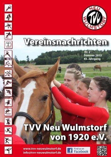 Sommer 2012 - TVV Neu Wulmstorf von 1920 eV
