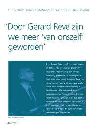 Bert Boelaars - Humanistisch Verbond