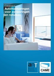 Meer info (Pdf) - CAME