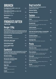 BRUNCH FROKOST/AFTEN - Cafe Phenix