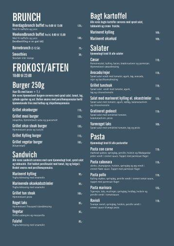 BRUNCH FROKOST/AFTEN - Cafe Phenix