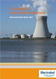 lto rapport long term operation - Federaal Agentschap voor ...