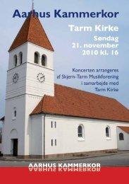 Program - Aarhus Kammerkor