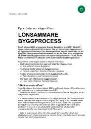LÖNSAMMARE BYGGPROCESS - Svensk Byggtjänst