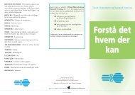 Folder...Forst det.... - Dansk Sklerodermi & Raynaud Forening
