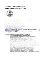 Forår - Nordjysk Forening For Naturvidenskab
