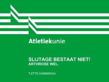 Slijtage bestaat niet, artrose wel - TjitteKamminga.nl