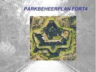 presentatie parkbeheersplan