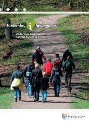 Sundhedspolitik 2012 - Haderslev Kommune
