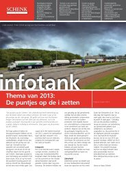 Thema van 2013: De puntjes op de i zetten - Schenk Tanktransport