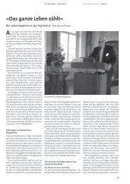 Das ganze Leben zählt - Deutsche Gesellschaft für Soziale Psychiatrie
