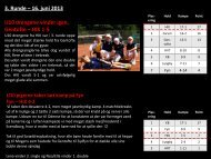 3. Runde – 16. juni 2013 U10 drengene vinder igen, Gentofte – HIK ...