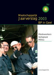 Download jaarverslag 2003 (pdf, 2226 KB) - BP