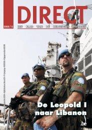 De Leopold I naar Libanon - Defensie