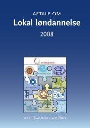[pdf] Aftale om Lokal Løndannelse 2008