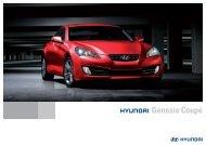 Genesis Coupe brochure - Hyundai