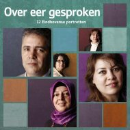Over eer gesproken: 12 Eindhovense portretten - Huiselijk Geweld