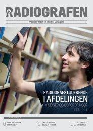 Radiografen 03, april 2013, årgang 41 - Foreningen af Radiografer i ...