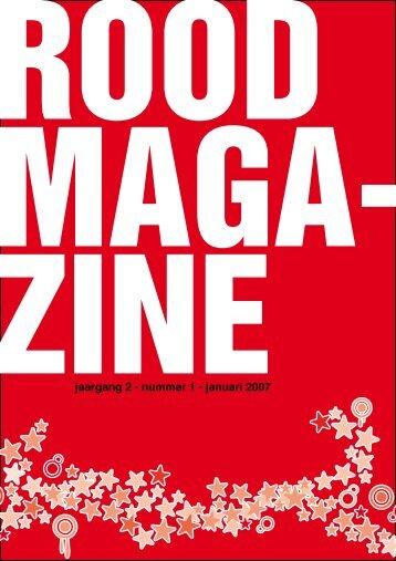 jaargang 2 - nummer 1 - januari 2007 - Rood - SP