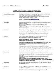 Reglement 2013 - Sektion 11