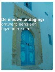 ontwerp eens een bijzondere deur - HDK Architecten
