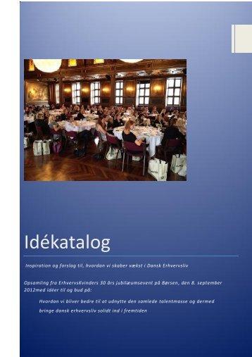 Download Idékataloget - Foreningen af Erhvervskvinder