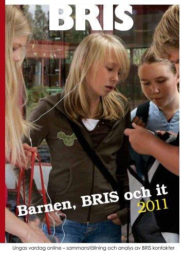 Barnen, BRIS och it • 2011