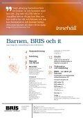 Barnen, BRIS och it • 2011 - Page 3