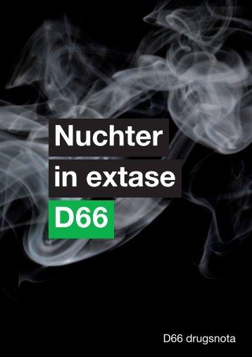 De integrale nota kan hier worden gedownload. - D66 ...