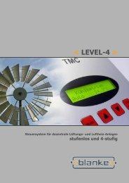 < Level-4 > stufenloser Betrieb - Blanke Steuer-Mess-Regeltechnik