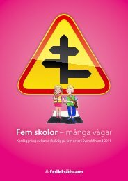 Trafikrapport 2011.pdf - Folkhälsan