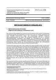 Bericht als PDF anzeigen - Handelskammer Finnland-Schweiz