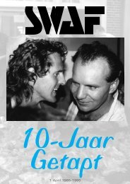 1 April 1985-1995 - 25 Jaar SWAF