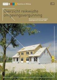 Download:Brochure Overzicht reikwijdte omgevingsvergunning