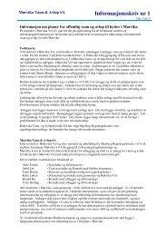 Infoskriv nr 1.pdf - Mørvika Vann & Avløp